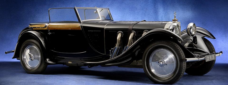 Mercedes Torpedo 1928