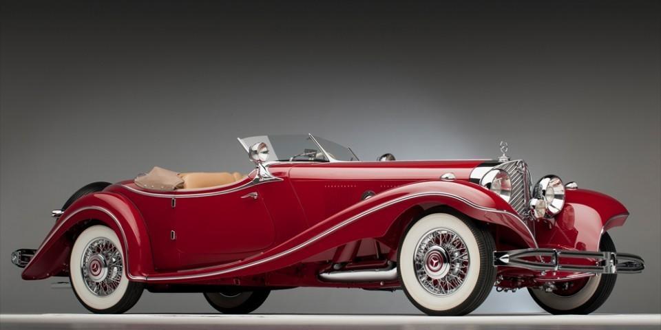 Mercedes  3500k – roadster de 1935